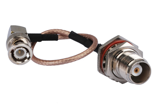 12in-RF-coaxial-cable-connector-BNC-male-right-angle-to-TNC-female-bulkhead-O-ring-straight
